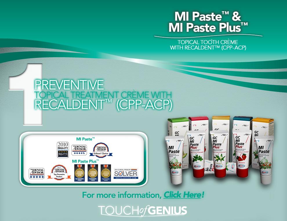 MI Paste & MI Paste Plus Consumer Site